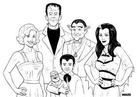 The Munsters - BW by b-maze