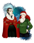 Shalka Christmas by Miss-Alex-Aphey