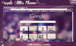 Purple Glitter Theme for Google Chrome by RoaringWindd