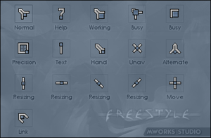 Freestyle cursors by dekaritae