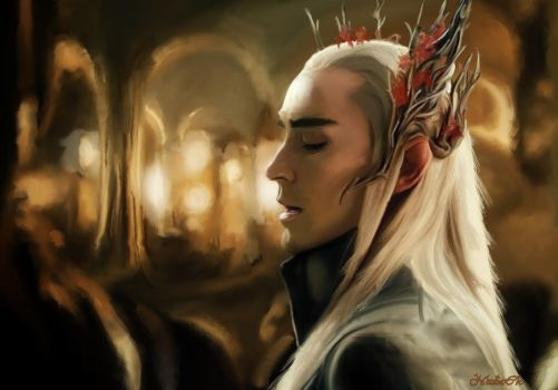 King of Mirkwood by Nadia-Ch