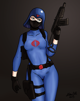 Cobra Female trooper by Shabazik