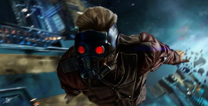 Star-Lord by RowenHebing
