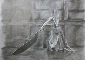 Pyramid Head by K-N-Divine