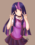 Twilight Sparkle speedpaint by PriestessLeiLei