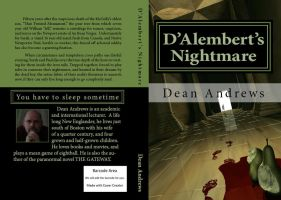 Final Book Cover for D'Alembert's Nightmare by cmdesigna