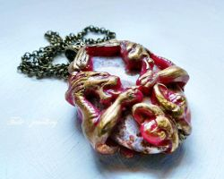 Dragon heart by Tuile-jewellery