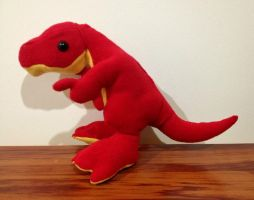 Cute Allosaurus Soft Toy by x0xChelseax0x