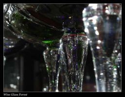 Wine Glass Forest by mafaka