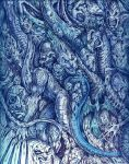 Hell in Blue - Detail 2 by adversary1