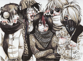 The Gazette_Cuz we ARE the BAND by KaZe-pOn