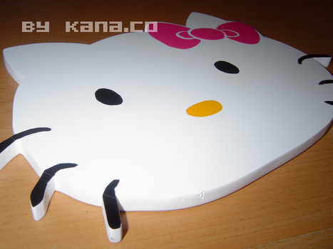 Hello Kitty wood mode by kana-co