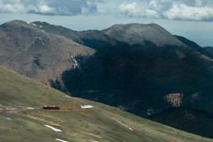 Up the mountain by AmblingPhotographer