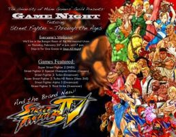 Street Fighter Night Flyer by Sh4d0w-W01f