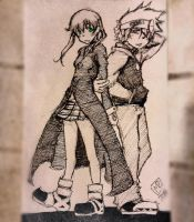 Soul Eater-Soul and Maka by Atlus154274