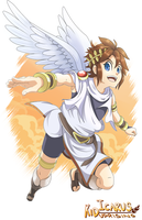 Kid Icarus: Uprising by Kanokawa