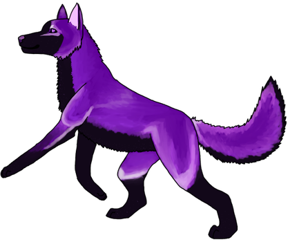Purple People Eater by Dogloverer