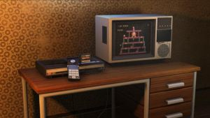 Colecovision Scene by TheMaxlord