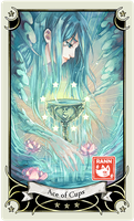 ::Tarot-Minor Arcana-Ace of Cups:: by rann-poisoncage