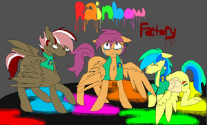 Rainbow Factory by ZipTheArtsyFox