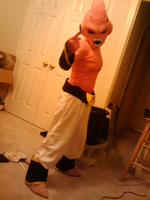 Kid Buu Full Body WIP by MonkeyHeartless