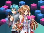 .: Asuna and Miku duet song :. by Sincity2100
