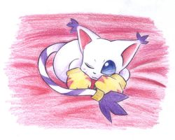 Digimon: Little Kitty by sleepyforest