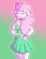 Minty Sheep by DaikaLuff