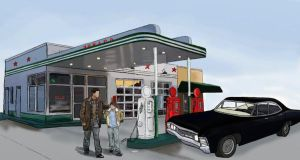 Gas station by winchesterxgirl