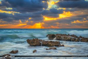 Glorious-Sunrise-at-Beach-in-Coral-Cove-Park by CaptainKimo