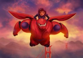 Big Hero 6 by gin-1994