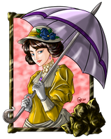 Victorian Lady - Colors by idelle