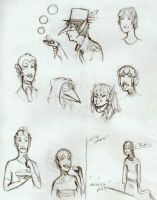 Busts, Busts Everywhere by AsktheWhatsitPrince