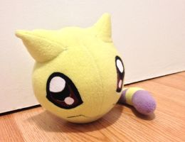 Digimon - Nyaromon custom plush by Kitamon