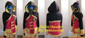 Young Justice Robin Hoodie by SethImmortal