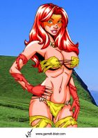 Savage Land Firestar 3 by Mythical-Mommy