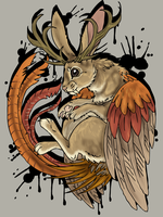 wolpertinger by mechanicalmasochist