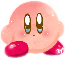 kirby by mizole95