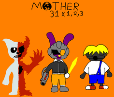 Mother 31+62+93 Villans by smashdugo
