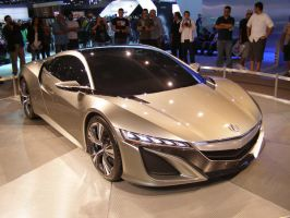 Acura NSX Concept by Jetster1