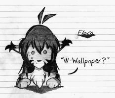 Flora Doesn't Like Wallpapers by Outlaw-Marston