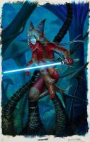 Shaak Ti Unleashed SWG6 Base by kohse