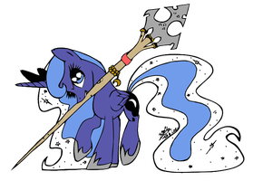 Luna's Staff Vector by Modus-Indorum