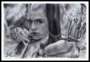 Legolas Greenleaf by jerinian