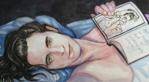 Just Loki, in Bed by golikethat