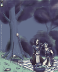 Warden and Inquisitor by DafnaSmith