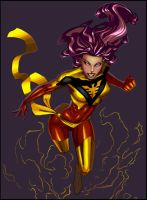 Dark Phoenix CG by Jats