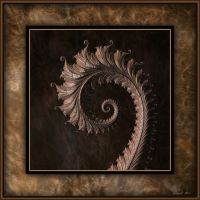 Wooden Complex Spiral by 12CArt