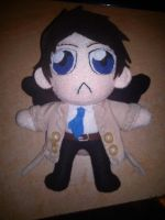 Supernatural Castiel Plush - SOLD by Yuseichan