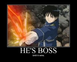 FMA: Boss by bluecat180